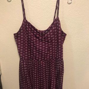 LARGE Loft Purple Dress